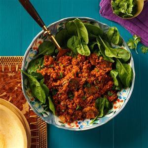 Smoky Quinoa with Mushrooms Recipe
