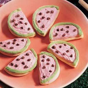 Watermelon Sugar Cookies Recipe