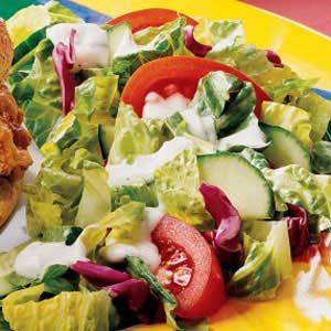 Quick Buttermilk Salad Dressing Recipe
