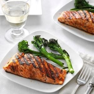 Spice-Rubbed Salmon Recipe