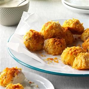 Bacon-Cheddar Potato Croquettes Recipe