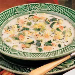 Tomato Zucchini Soup Recipe