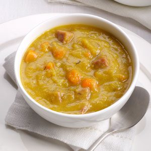 Slow Cooker Split Pea Soup Recipe