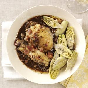 Chicken with Shallot Sauce Recipe