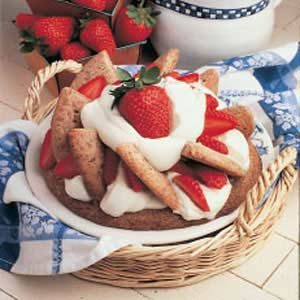 Strawberry Shortbread Shortcake Recipe