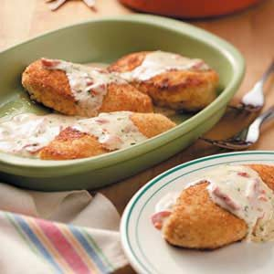 Chicken in Basil Cream Recipe