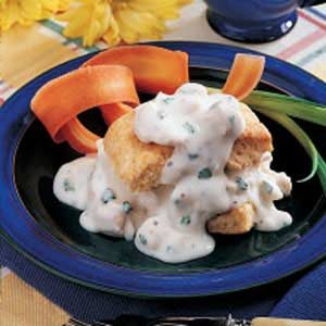 Creamed Chicken 'n' Biscuits Recipe