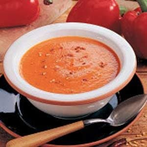 Red Pepper Soup Recipe