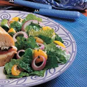Orange Romaine Salad Recipe
