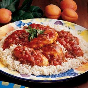 Apricot Salsa Chicken Recipe