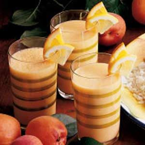 Frothy Apricot Drink Recipe