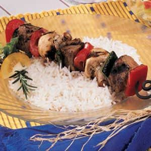 Broiled Beef Kabobs Recipe