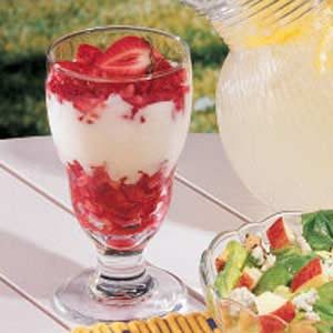 Strawberry Lemon Parfaits