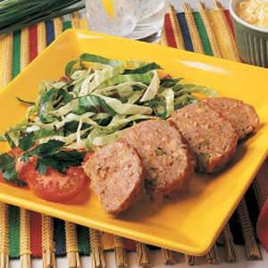 Mini Meat Loaf Recipe