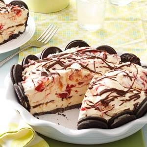 Cookie Ice Cream Pie Recipe
