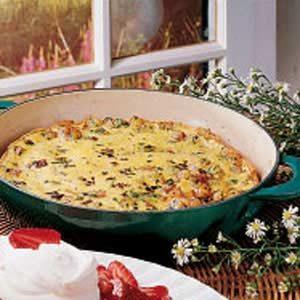Potato Omelet Recipe