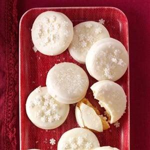 Buttery Lemon Sandwich Cookies Recipe