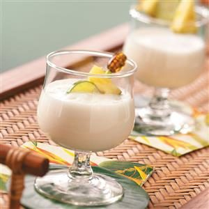 Frosty Pineapple Nog Recipe