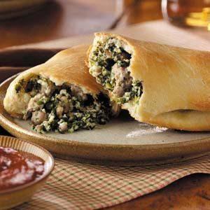 Sausage Calzones Recipe