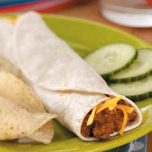 Brown-Bag Burritos Recipe