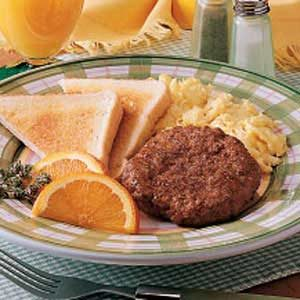 Breakfast Patties Recipe