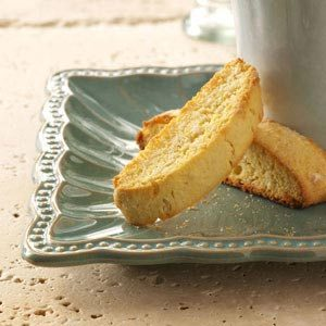 Lime Coconut Biscotti