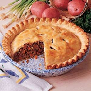 Taste of home magazine recipes for meat pie