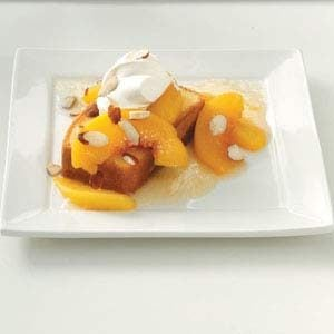 Tipsy Roasted Peaches Recipe