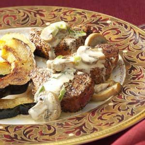 Peppered Pork with Asti Cream Sauce
