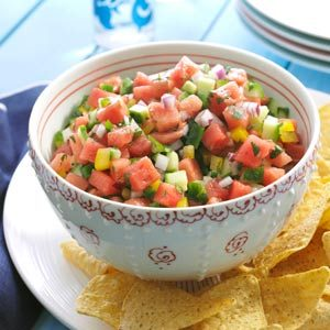 Spicy Watermelon Salsa Recipe