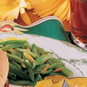 Green Beans with Almonds Recipe