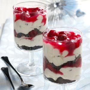 Black Forest Cannoli Parfaits
