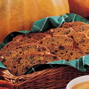 Fruited Pumpkin Bread Recipe
