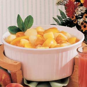 Spiced Hot Fruit Recipe