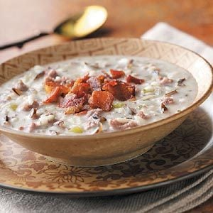 Hearty Wild Rice Soup Recipe
