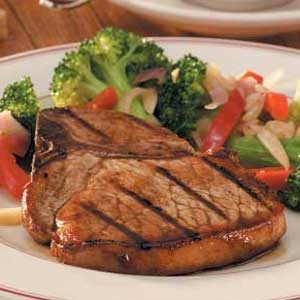 Tangy Grilled Pork Chops Recipe