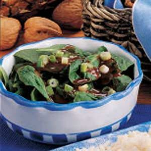 Sweet Spinach Salad Recipe