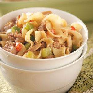 Turkey Noodle Casserole Recipe