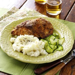 Savory Oven-Fried Chicken Recipe