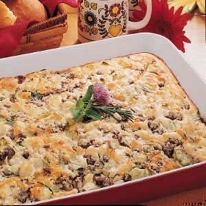 Meat Bun Bake Recipe