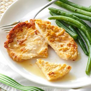 Turkey Cutlets in Lemon Wine Sauce Recipe