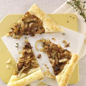 Caramelized Fennel Tarts Recipe