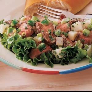 Steak and Potato Salad Recipe