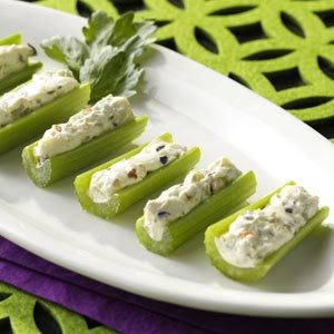 Olive-Stuffed Celery Recipe