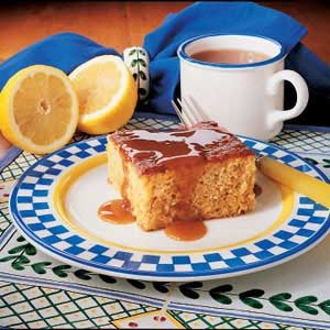 Caramel Pineapple Cake Recipe