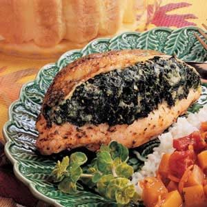 Spinach-Stuffed Chicken
