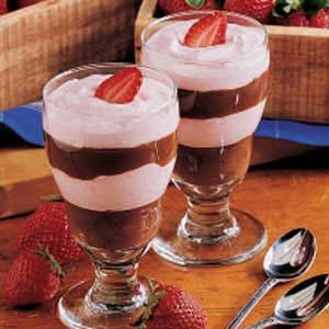 Chocolate Berry Parfaits Recipe