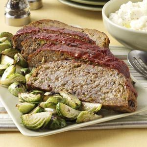 Old-World Pizza Meat Loaf Recipe