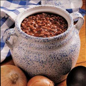 Simple Maple Baked Beans Recipe