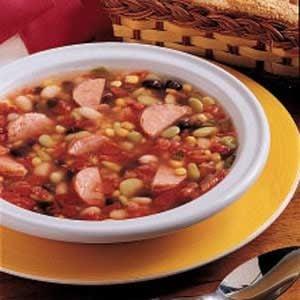Bean Sausage Soup Recipe